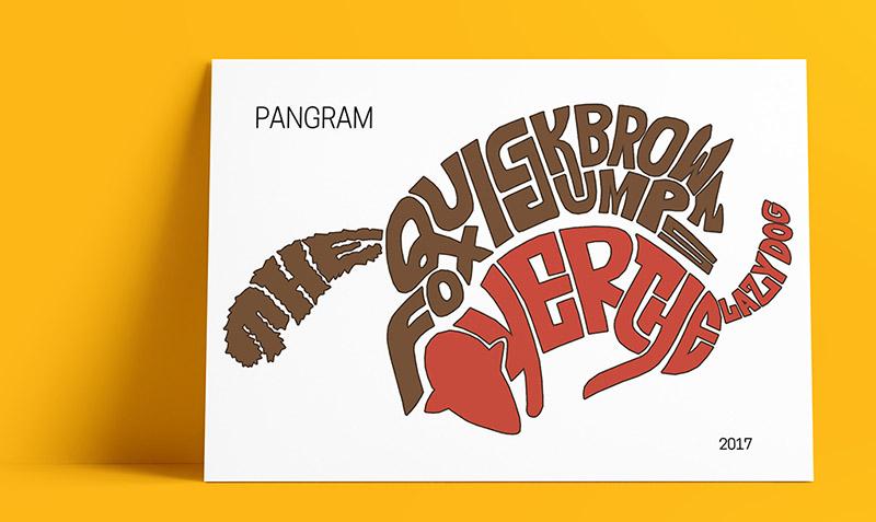 PosterPangramFox